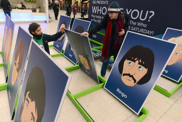 SSE hold giant game of 'Who are You?' for one-off gig by The Who