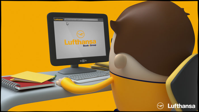 Space creates new video to promote group booking tool for Lufthansa
