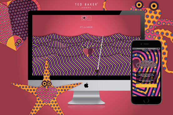 Ted Baker turns to gaming for Valentine's Day digital drive