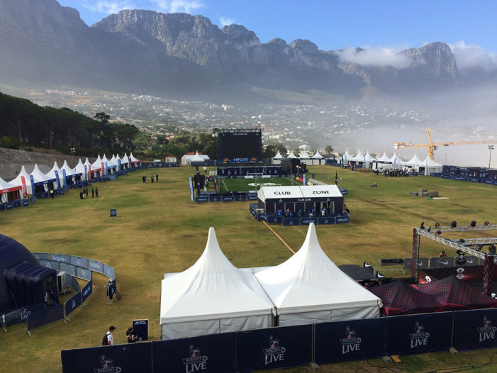 Wasserman produces Barclays Premier League Live event in Cape Town