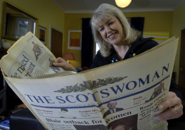 The Scotsman rebrands to Scotswoman with female driven news agenda to mark International Women's Day
