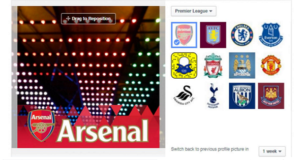 Facebook links up with the Premier League and Star Wars for new Profile Pic Frame feature