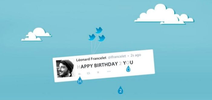 Unicef uses Twitter to mark World Water Day with interactive #H20Filter push