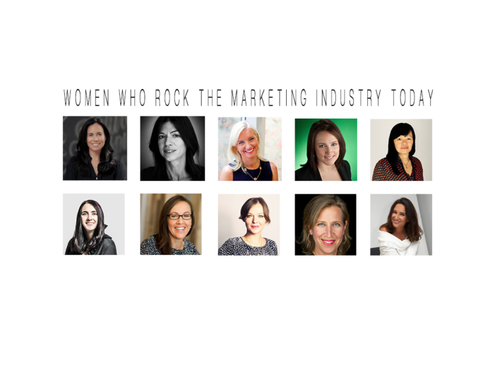 Some Women Who Rock The Marketing Industry Today