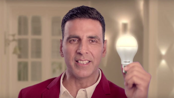 Rediffusion–Y&R creates unique campaign for Eveready's Super Bright LEDs featuring Akshay Kumar