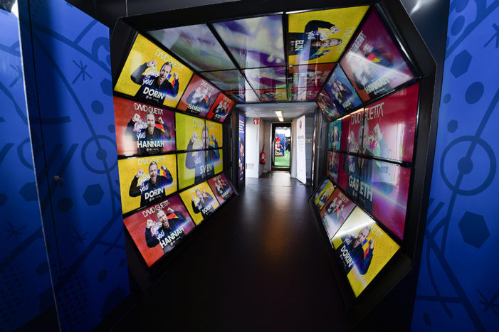 Space Creates Train Trophy Tour Experience For UEFA Euro 2016