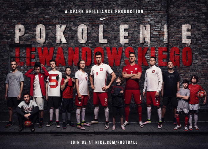 B-Reel and Nike Spark Brilliance with Super-Striker Robert Lewandowski