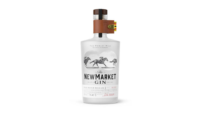 The Newmarket Gin launches with horse racing themed design by Nude Brand Creation