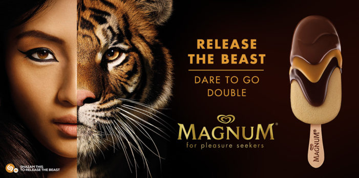 "Magnum taps Shazam's technology for its new ""Release the Beast"" global campaign"