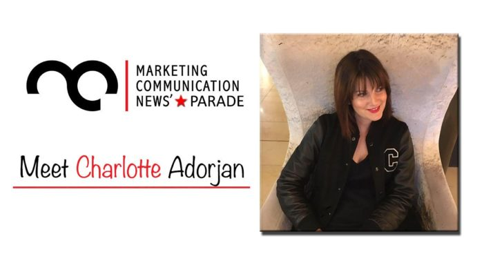 MarComm's Star Parade: Meet Charlotte Adorjan