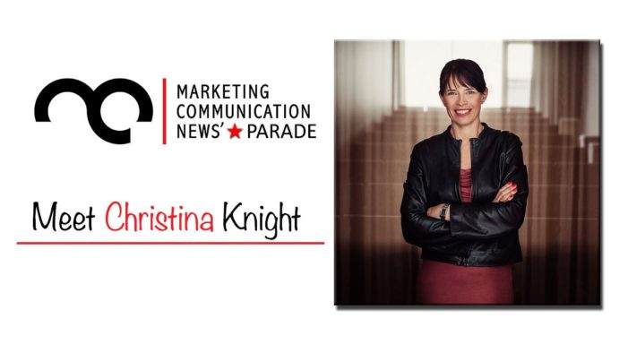 MarComm's Star Parade: Meet Christina Knight