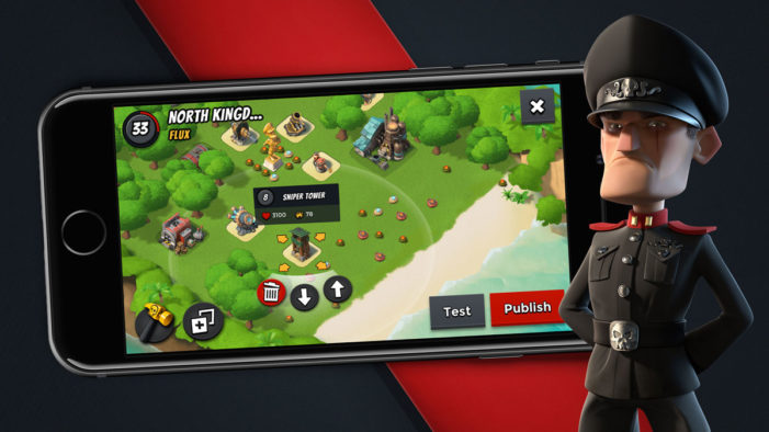 Supercell Partner with North Kingdom to Create Boom Beach's 'Blackguard Base Builder'