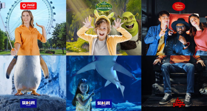 """TWELVE creates """"Surprising Combinations,"""" a new campaign for Merlin Entertainments' London Attractions"""