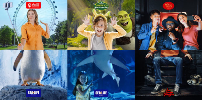 "TWELVE creates ""Surprising Combinations,"" a new campaign for Merlin Entertainments' London Attractions"
