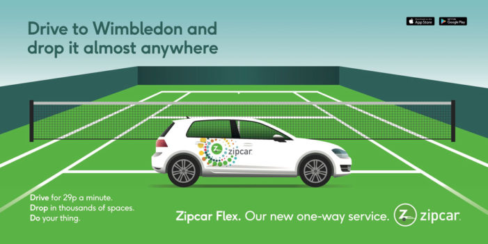 Zipcar works with Founded on campaign to launch new Flex service