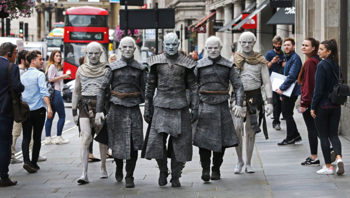 Winter is Here: White Walkers descend on Britain ahead of Game of Thrones season 7