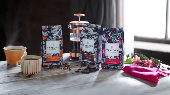 Taylors of Harrogate opens the door to a world of extraordinary flavour with major rebrand
