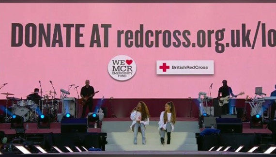One Love, three days: How the British Red Cross handled digital donations during the Manchester event
