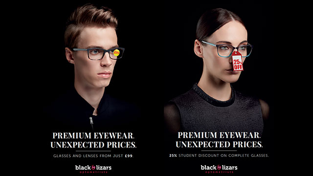Black & Lizars launches eye-catching ad campaign