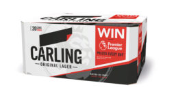 Carling Unveils On-Pack Promotion Giving Consumers the Chance to Win the Premier League Trophy