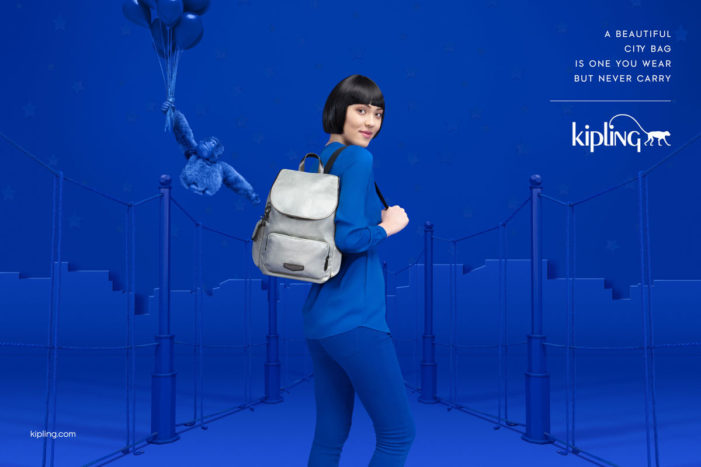 Kipling launches first-ever global brand campaign with DDB & Tribal Worldwide, Amsterdam