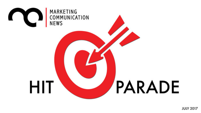 MarComm News' Hit Parade: July 2017
