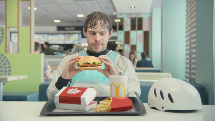 McDonald's Positions the Chicken Legend as the Burger for Everyday Legends