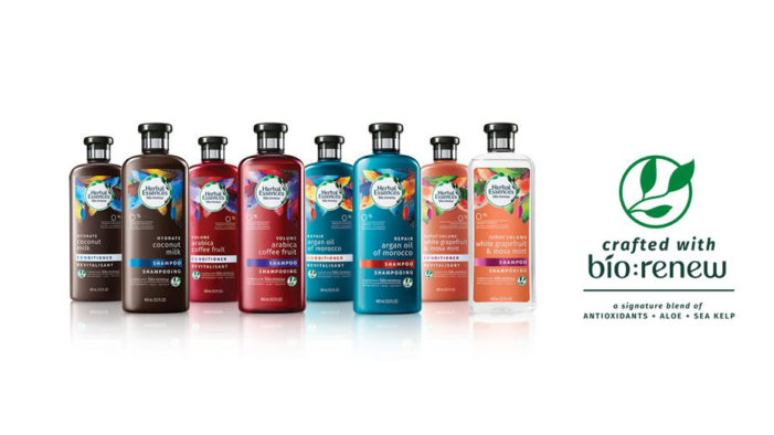 New addition to Herbal Essences range harnesses the power of nature and science