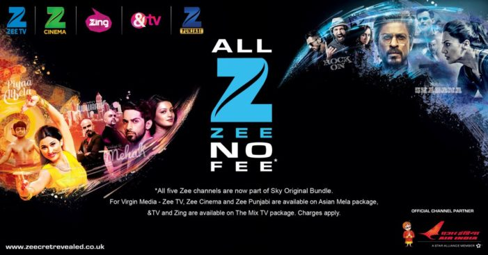 Zee channels are now available to UK homes via Sky's Original bundle