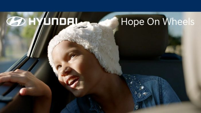Hyundai launch Hope On Wheels campaign for National Childhood Cancer Awareness Month