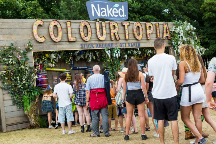 Naked Juice opens doors to Colourtopia at Festival No.6