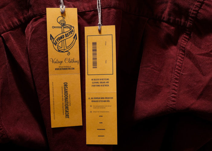 The second hand clothes chain that recycles clothes and organs