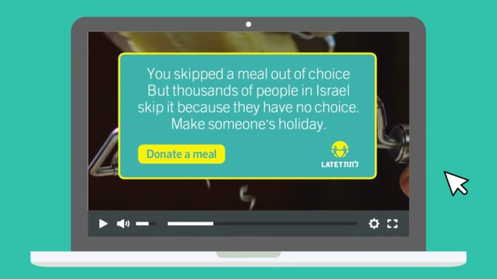 Latet's Decoy Pre-Roll Ad by BBR Saatchi & Saatchi Raises Awareness for Poverty in Israel
