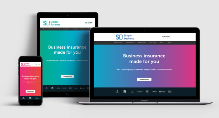 Start Design and Simply Business collaborate to deliver a new brand identity