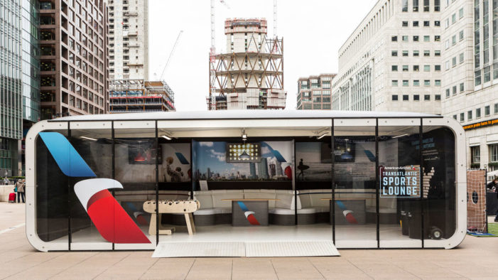 American Airlines launches integrated experiential OOH campaign in London