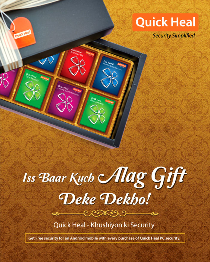 This Diwali, Quick Heal launches 'Khushiyon Ki Security' to secure the digital life of your loved ones