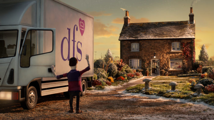 krow Creates New Christmas Campaign for DFS