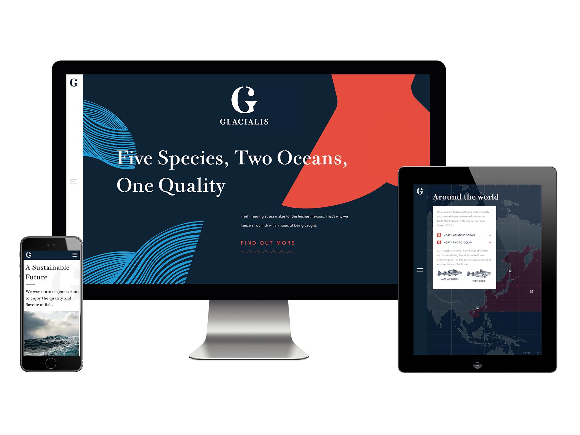Glacialis – Website