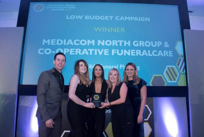 MediaCom North Scoops Four At The UK Social Media Communications Awards