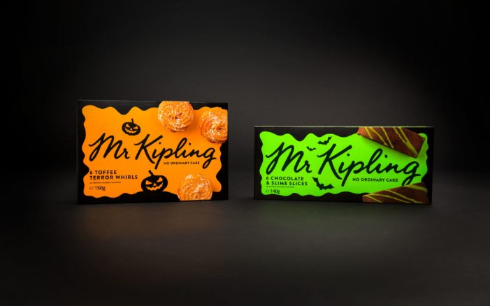 Robot Food Puts Mr Kipling Australia In The Spirit With A Festive New Design For Seasonal Ranges