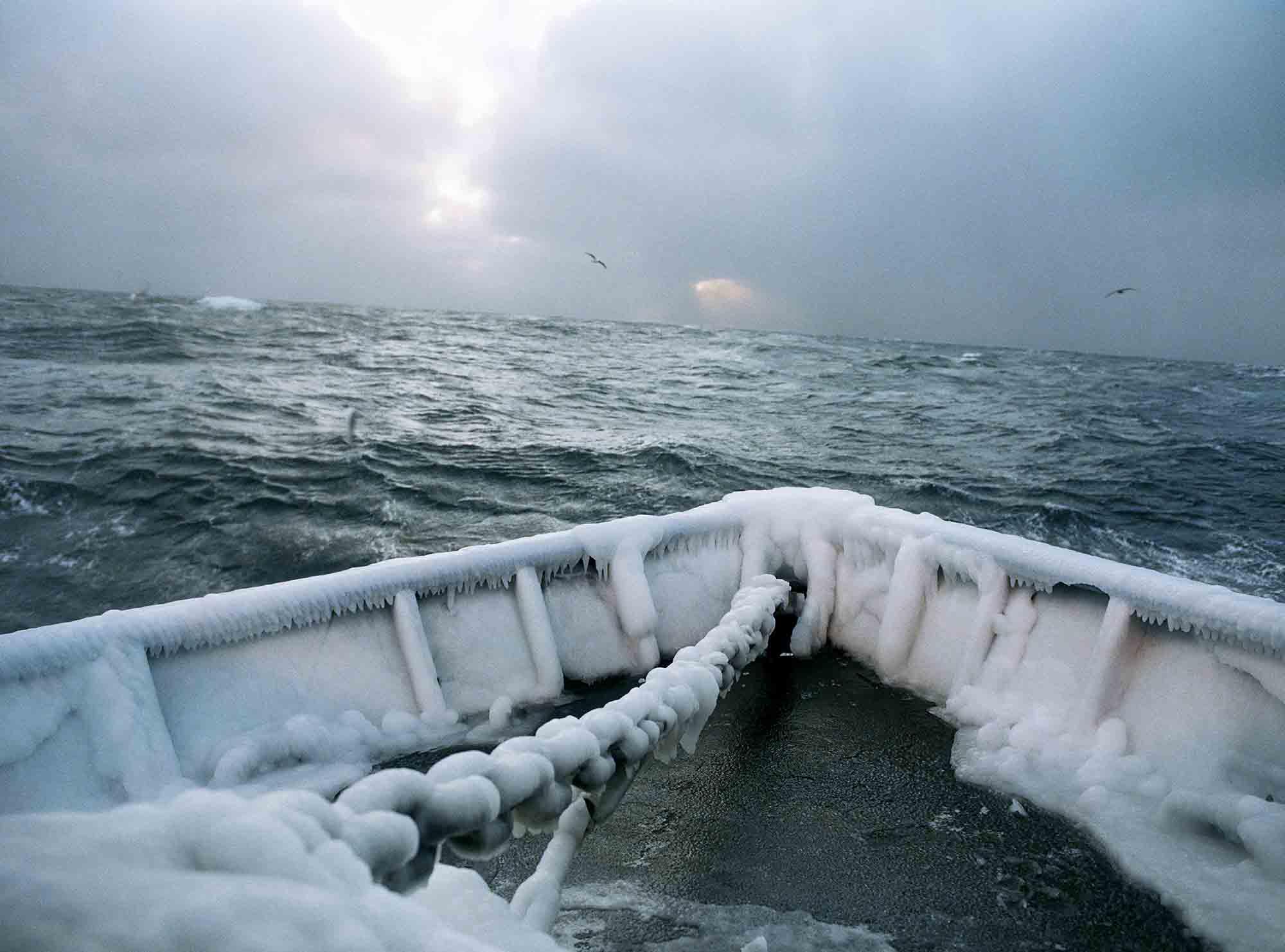 Ocean Spirit – Corey Arnold, Icy Bow