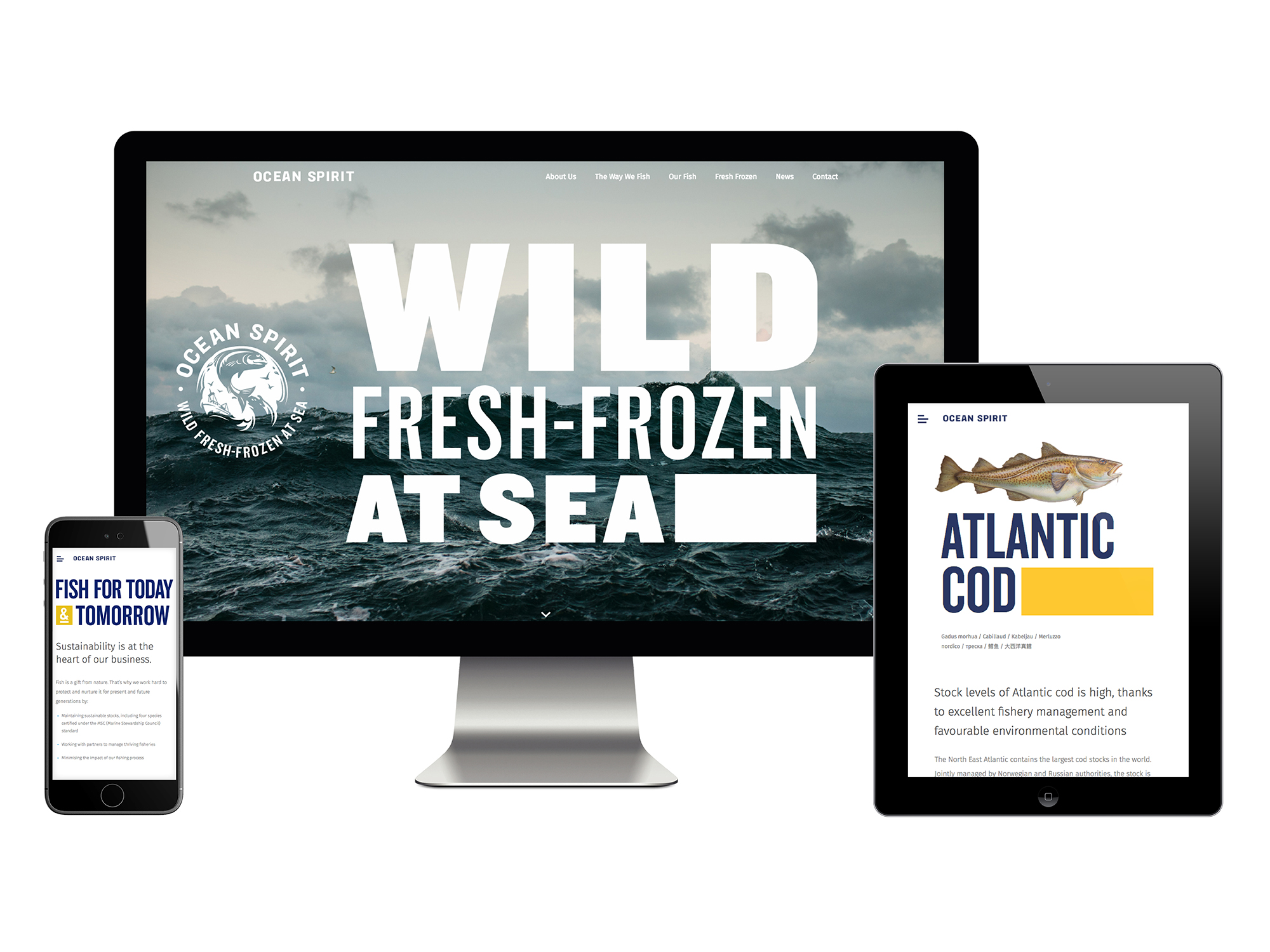 Ocean Spirit – Website
