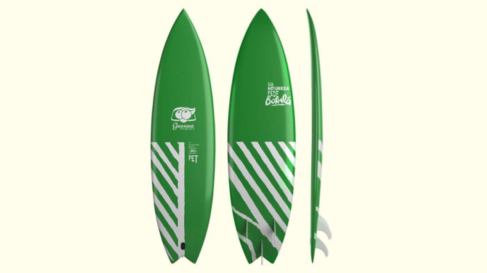 Guaraná Antarctica Recycle PET Bottles to Develop a Surfboard