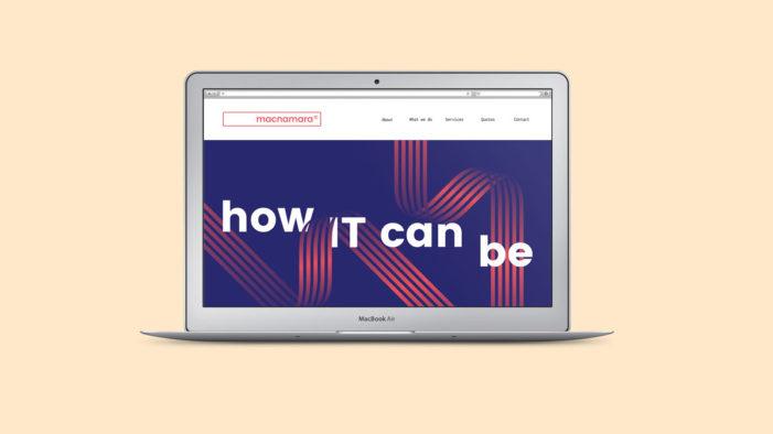 Nalla creates new brand identity for IT and telecoms support group Macnamara