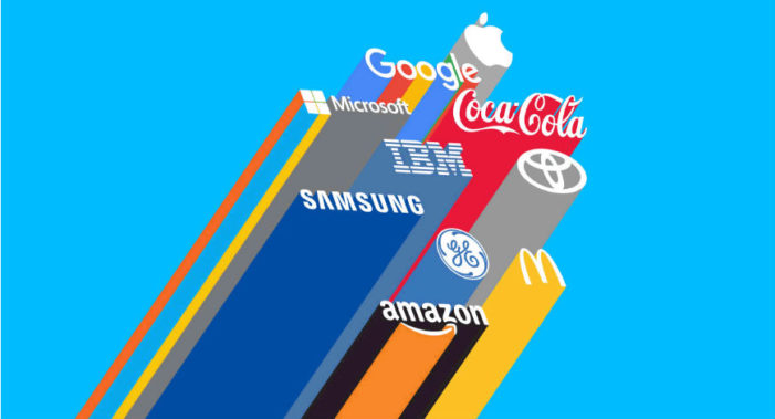 Global brands are winning the battle for consumers' hearts and minds, according to Nielsen