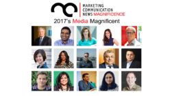 MarComm's Magnificence – 2017's Media Magnificent