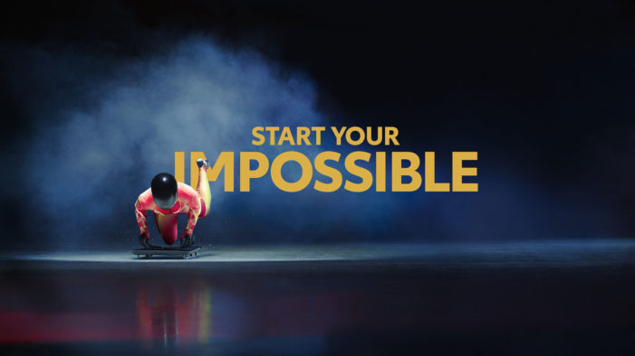 "Toyota unveil their ""Start Your Impossible"" campaign for the Olympic and Paralympic Winter Games"