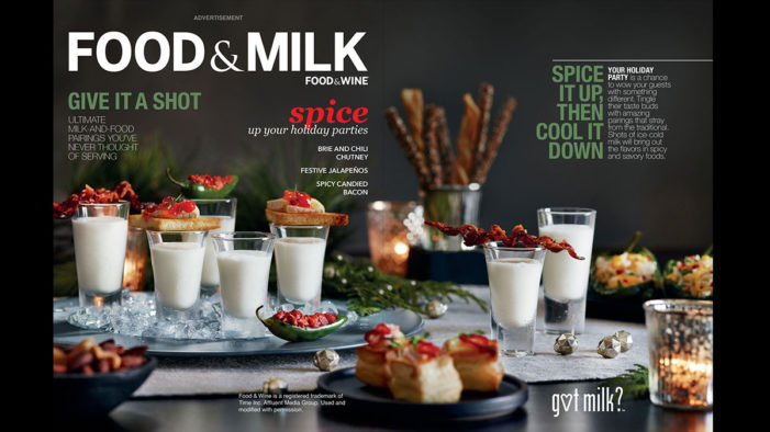 GS&P Convince Food & Wine To Change Their Name For 'Got Milk?'