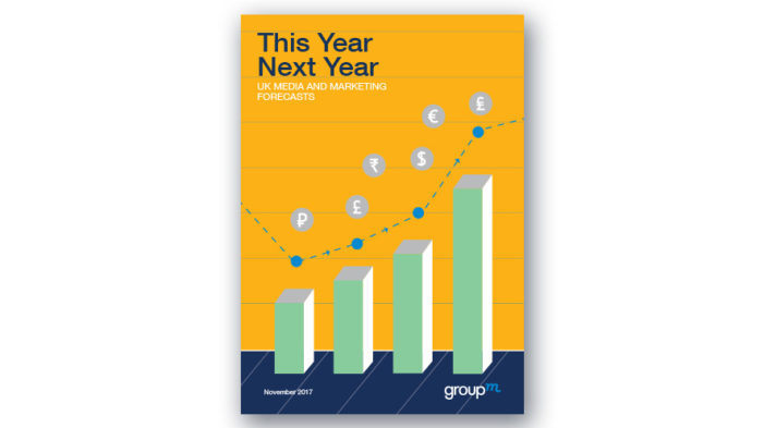 GroupM: UK advertising will grow to £19.8B in 2018, increasing 4.8%