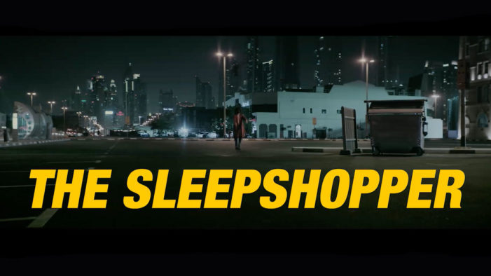 HSBC uses a sleepwalker to advertise Apple Pay in Dubai